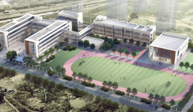 2021年启用!胶州龙湖天街小学效果图公示 属于局属公办小学