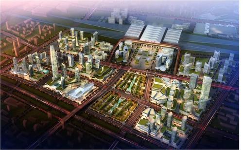 孙爱军调研高铁新区项目建设时强调:高水平推进高铁新区规划建设