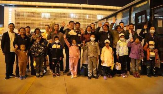 第二批西藏昂仁县9名先心病患儿抵淄 下周接受免费手术