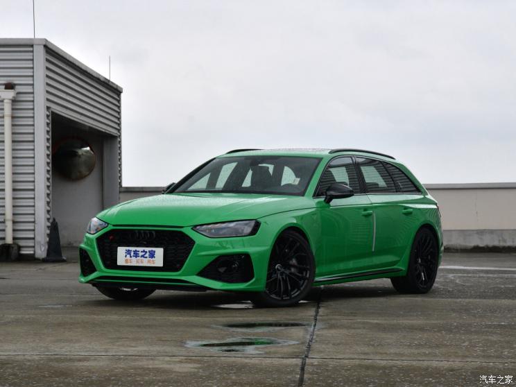 新款奥迪RS 4/RS 5将于10月中下旬上市