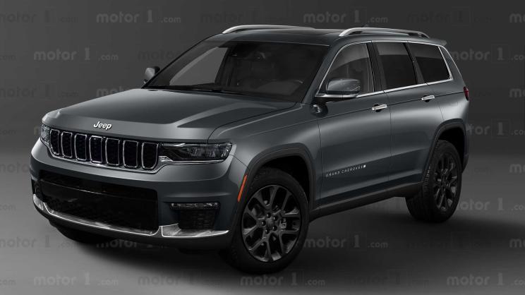 豪华感提升 全新Jeep大切诺基渲染图