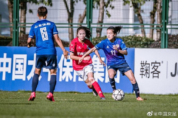 山东女足五球大胜杭州 联赛最终位列第七位