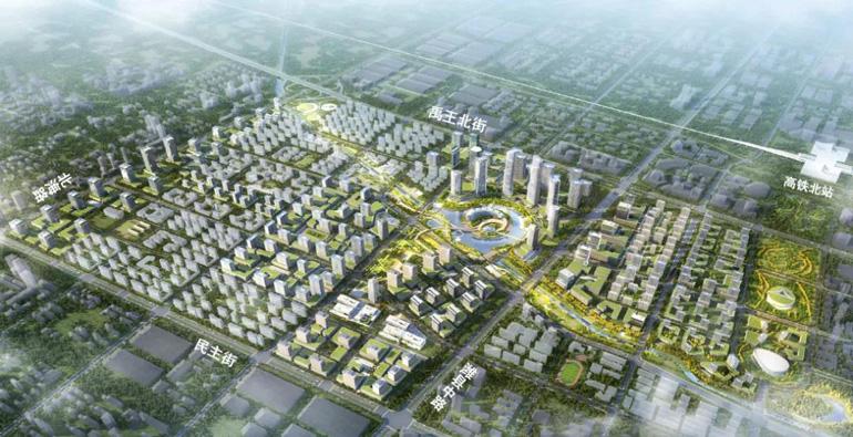集中发展高端服务业,潍坊中央商务区概念规划出炉