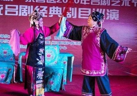 东营区:传统戏曲进社区 文化惠民暖人心