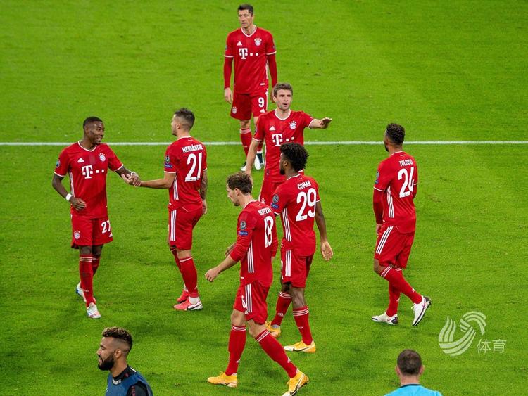 科曼独造三球,拜仁4-0大胜马竞