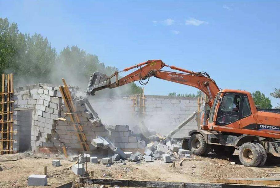 东营市10月底前拆除137处违建 总面积近13万平方米