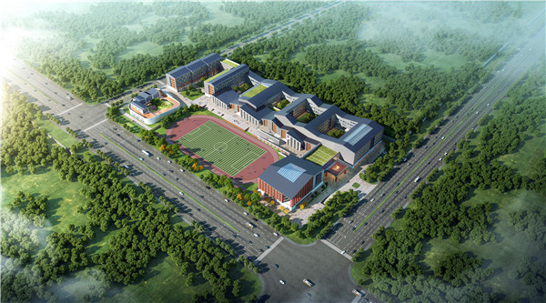青岛新东方国际双语学校在平度正式开工建设