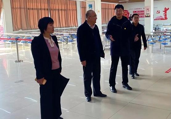 滨州技师学院副院长崔发昌一行到沾化职业中专、沾化实验高中交流学习
