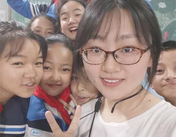 """滨州""""90后""""支教女孩王圆:跨域千里 邂逅云南大山里的温暖"""