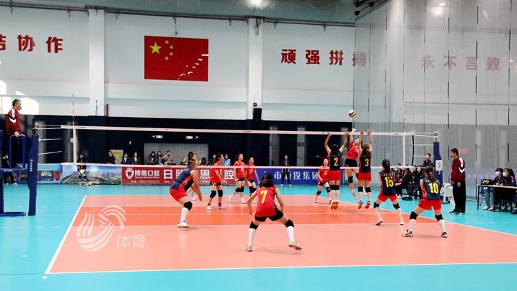 青春飞扬!2020年山东省大学生排球锦标赛日照开赛