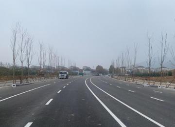 泰安北上高大街主线贯通,11月24日将实现道路通车