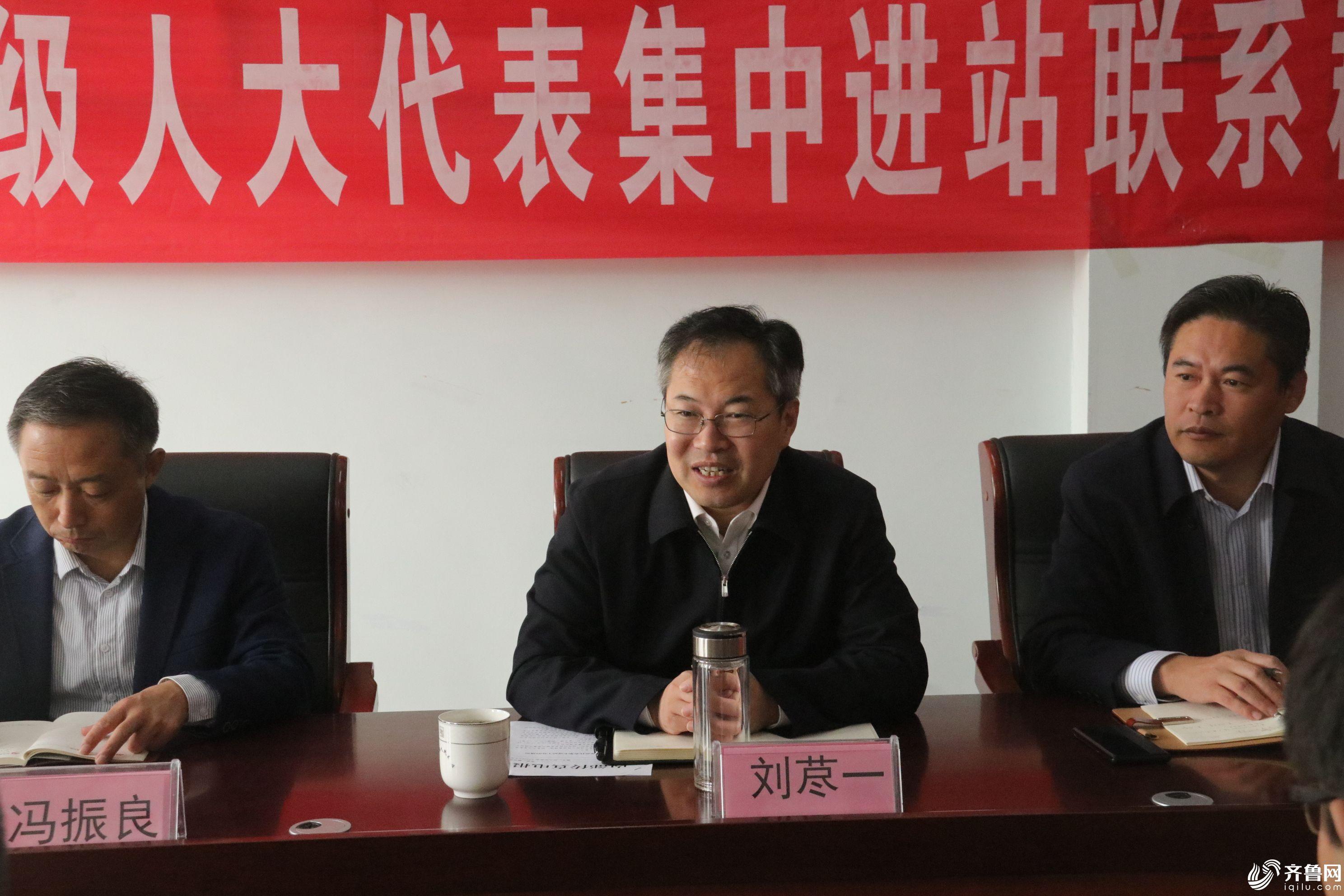 县长刘荩一到河流镇进站参加活动 (2)