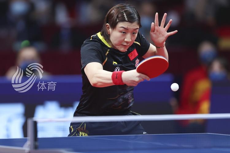 四连冠!陈梦4-1战胜王曼昱夺得国际乒联总决赛女单冠军