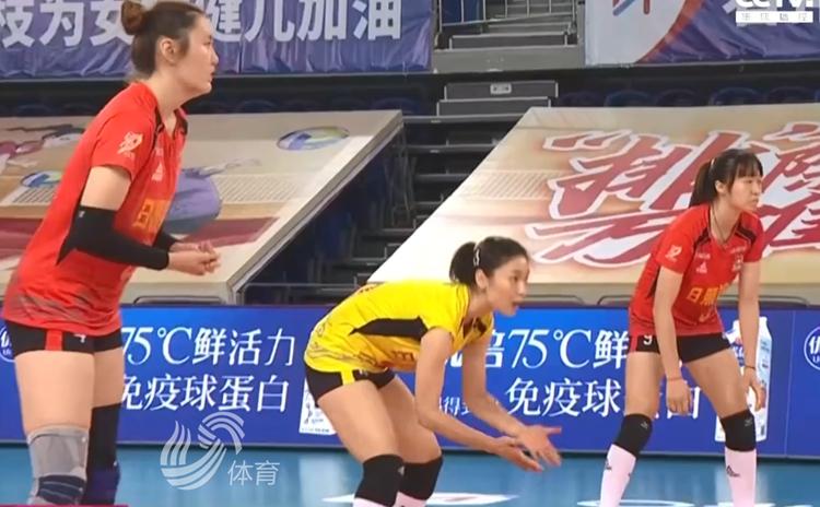 杜清清16分 山东女排3-0完胜河南取三连胜