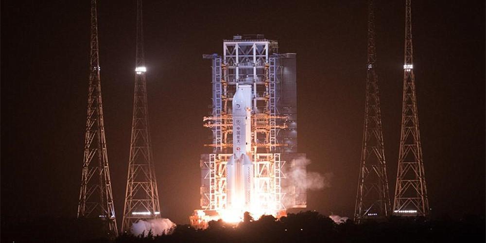 """探月""""三步走"""" 收官""""有看头""""——中国探月工程嫦娥五号任务正式启航"""