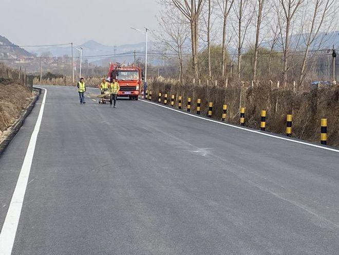 通往淄博五阳湖风景区的这条主干道主体改造完成 下月中旬正式通车