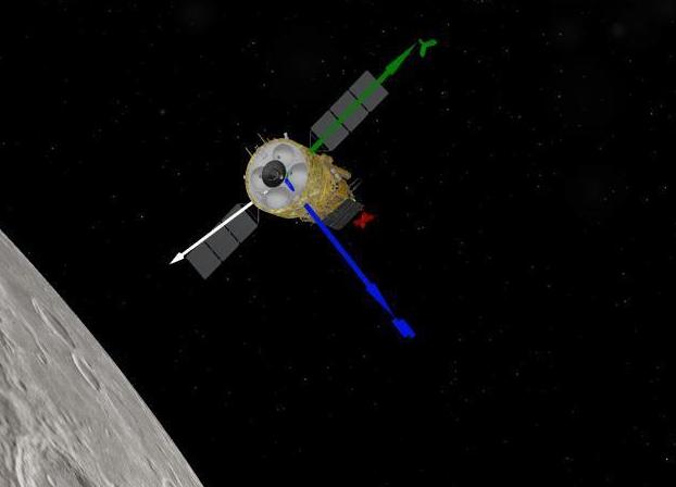 """嫦娥五号再度""""踩刹车""""进入近圆形环月轨道飞行"""