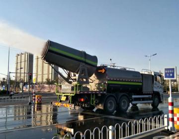 """滨州市城区道路保洁开启""""冬季作业模式"""""""