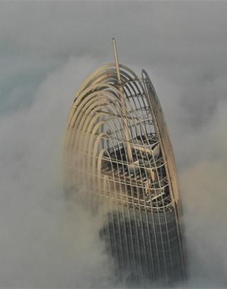 """雾""""锁""""泉城!山东8地市出现浓雾天气"""