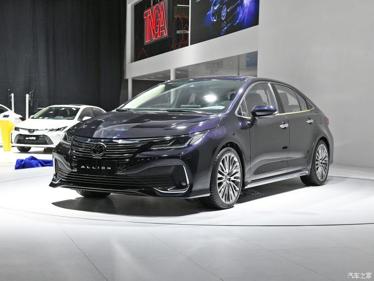 一汽丰田ALLION有望2021年3月29日上市