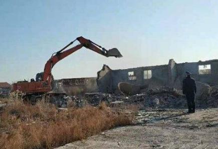 东营金湖银河片区迁占拆除行动再发力