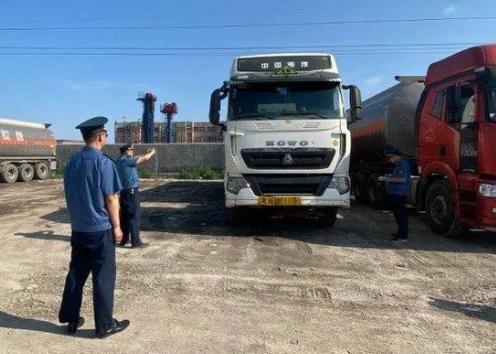垦利已淘汰国三营运柴油货车516辆 占年度任务的120.8%