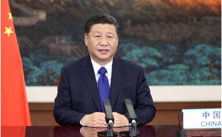 """习近平""""中国承诺""""彰显大国担当"""