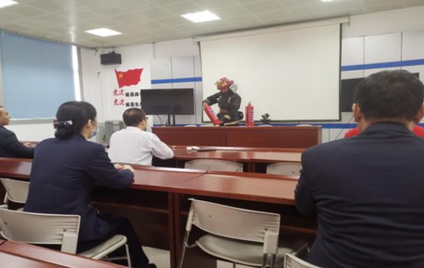 聊城移动高唐分公司开展消防知识培训及消防演习
