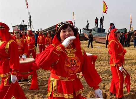 东营民俗之曹文忠剪纸、红光祭海节、黄氏酒坊酿酒技艺