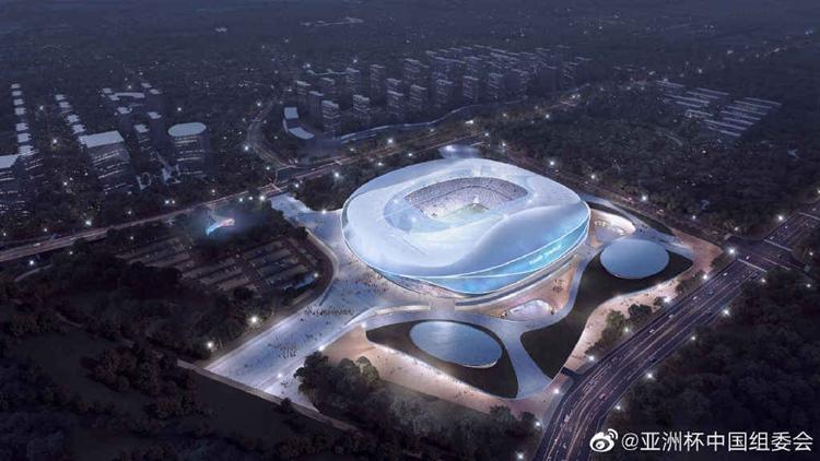 青島亞洲杯足球場最新規劃發布 將建容納5萬人的專業足球場
