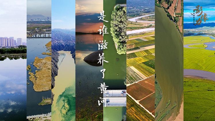 影像力|是誰滋養了黃河 讓浩瀚黃河之水奔騰澎湃