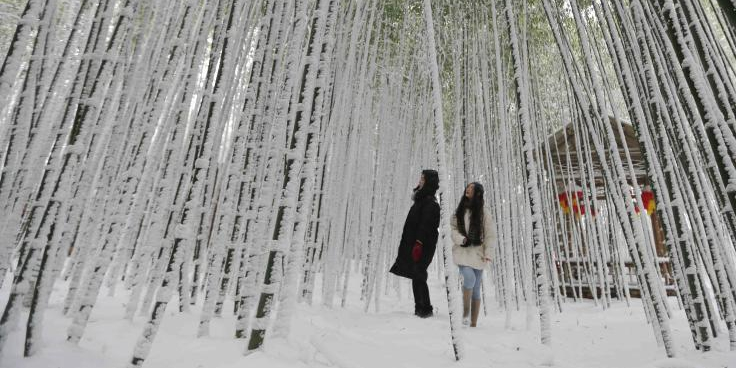 寒潮来袭 多地降雪