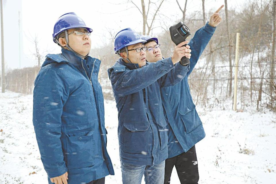 日照:备战寒潮天气保障可靠供电
