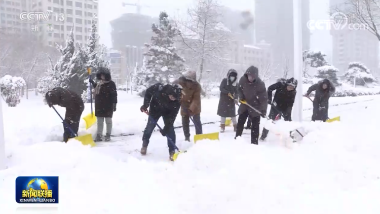央视《新闻联播》:威海荣成启动除雪应急预案