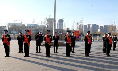 """淄博举行庆祝首个""""中国人民警察节""""活动"""