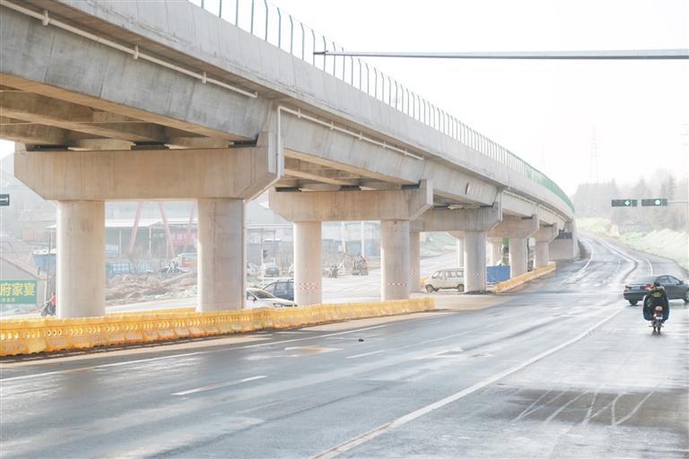 淄博这座立交桥正式通车