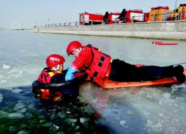 潍坊滨海区开展应急演练 提高救援水平