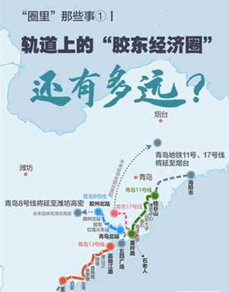 青岛8号线将延至高密,11号线或延至烟台