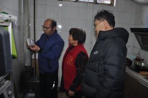 淄博高新区12044个一氧化碳报警器免费装到家