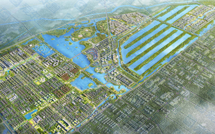 北二路沿线及金湖银河片区:崛起的未来湿地新城