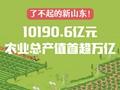 了不起的新山东!10190.6亿元,农业总产值首超万亿