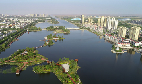 图说东营|广利河:一路通畅 一路风景