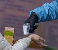 春运丨记者探访淄博汽车总站 进站先扫码测温 疫情防控措施增加