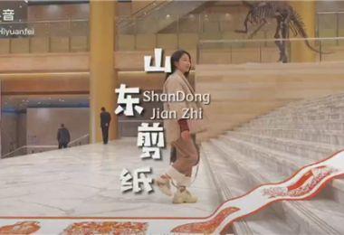 """""""冬游齐鲁""""短视频挑战赛优秀作品:山东剪纸"""