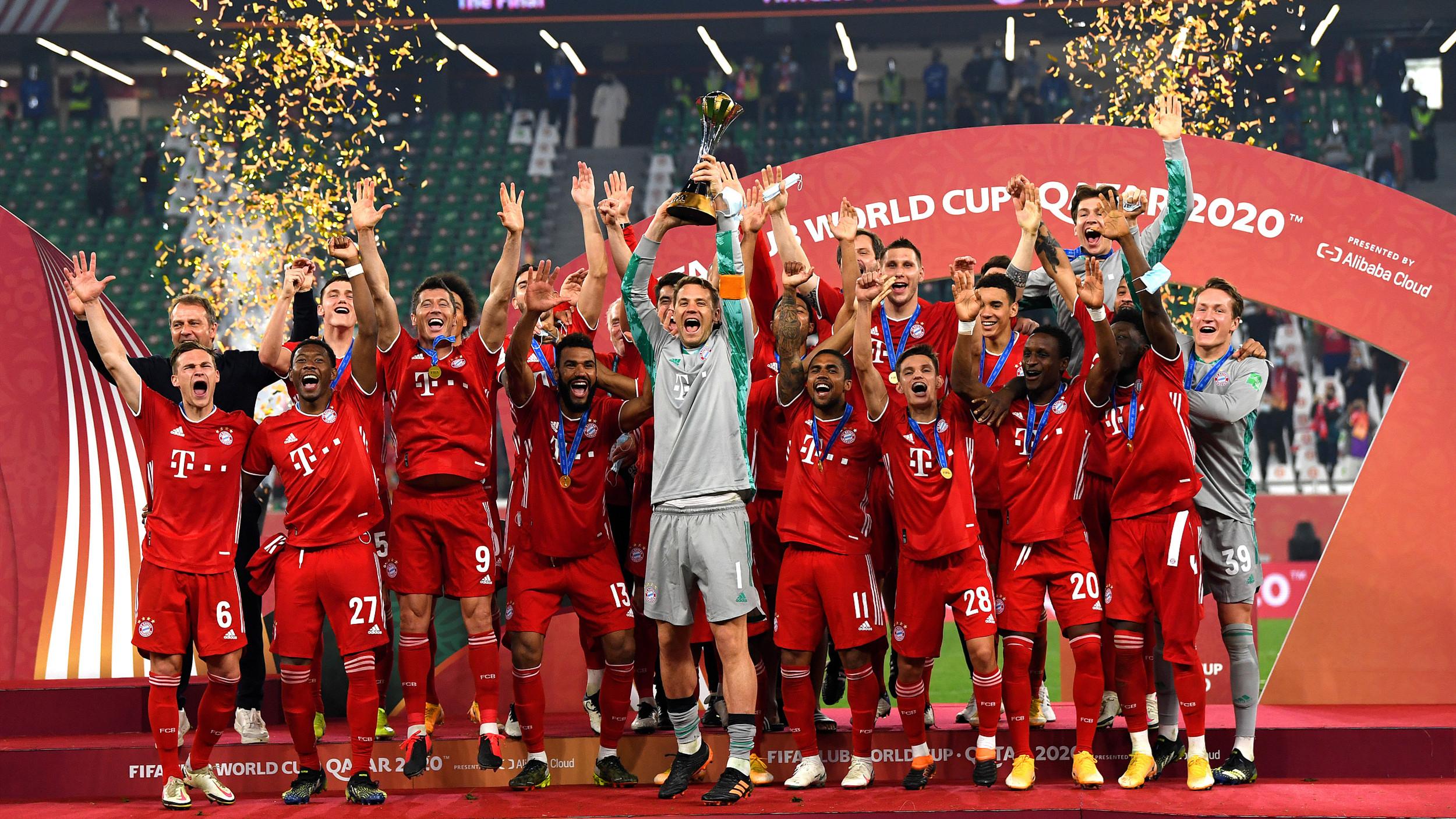 拜仁世俱杯奪冠 隊史首獲六冠王
