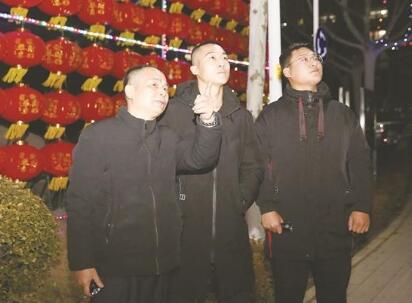 我在淄博过年丨守护平安 就是最好的年味