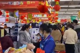 春节期间淄博消费品市场物丰价稳 生活必需品价格未出现异常波动