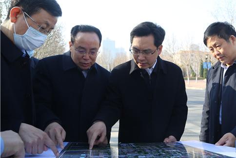 陈必昌到中国石油大学(华东)东营片区调研