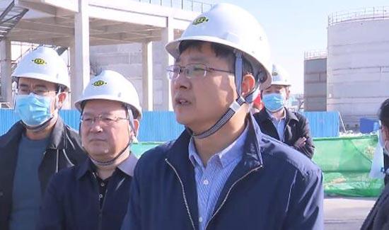 马晓磊到临淄区调研督导重大项目建设