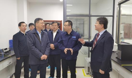 马晓磊带队赴西安考察学习、招商引资